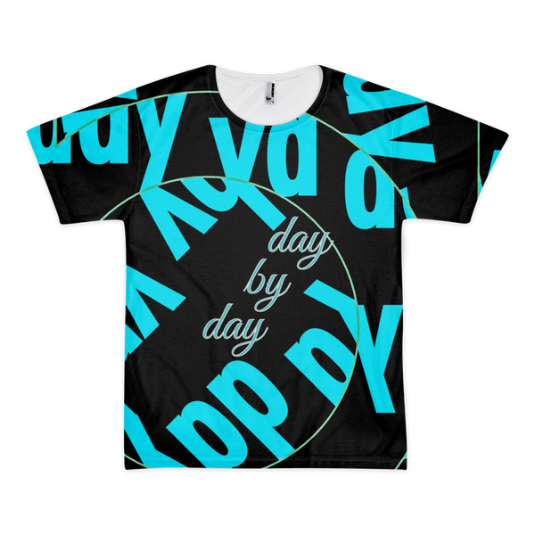 Day by Day Short Sleeve Men's T-shirt (unisex)