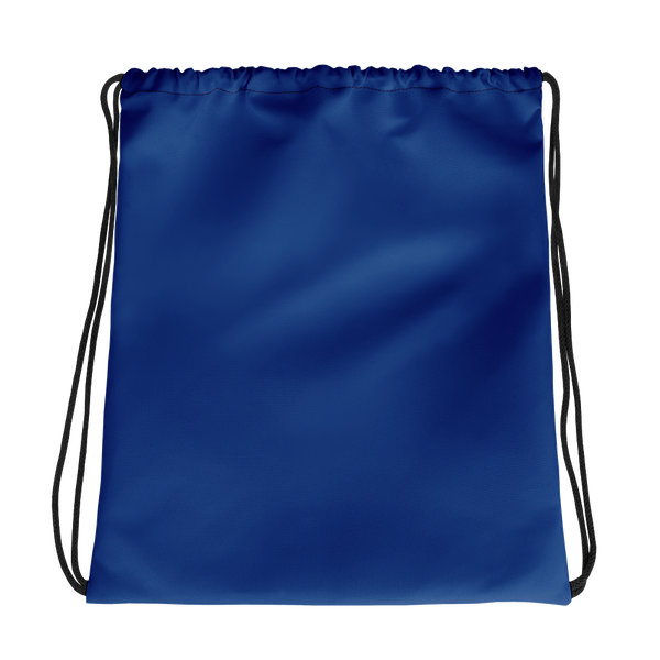 All Blue Drawstring bag