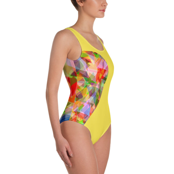 Side Heart-y One-Piece Swimsuit
