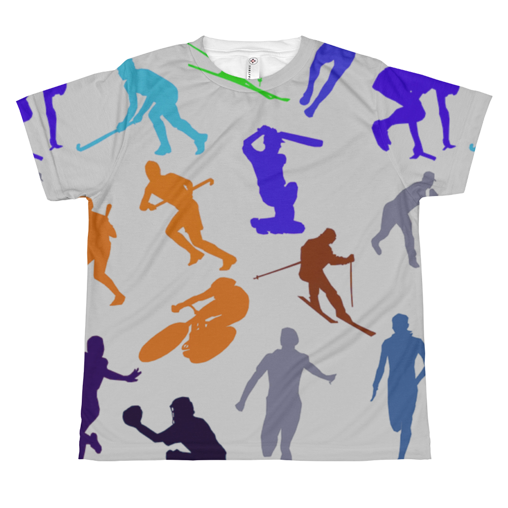 Multiple Sports Strength All-over Youth Sublimation T-shirt