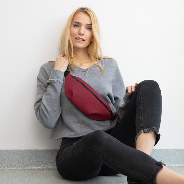 Burgundy Red Fanny Pack