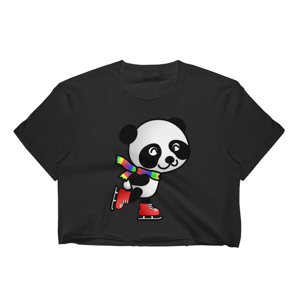 Panda Fun! Women's Crop Top