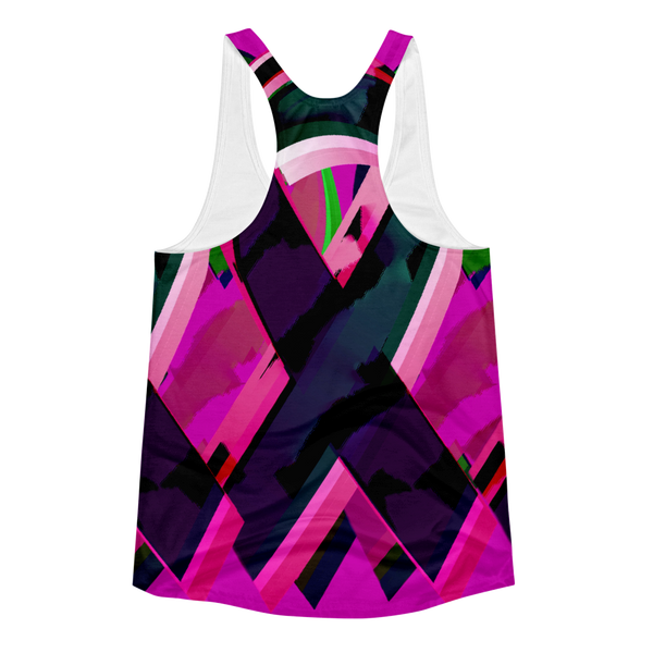 Colorful Ribbon Women's Racerback