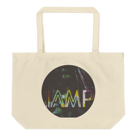 IAMP Large organic tote bag (CREATE YOUR PERSONALIZED DESIGN)