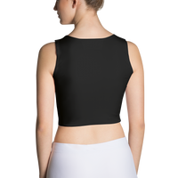 All Black Sublimation Cut & Sew Crop Top