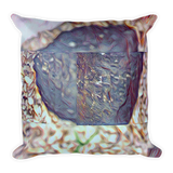 Front Yard Rock Square Pillow