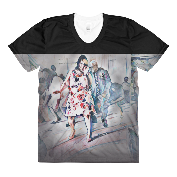 Life's Dance-B Sublimation Women's Crew Neck T-shirt