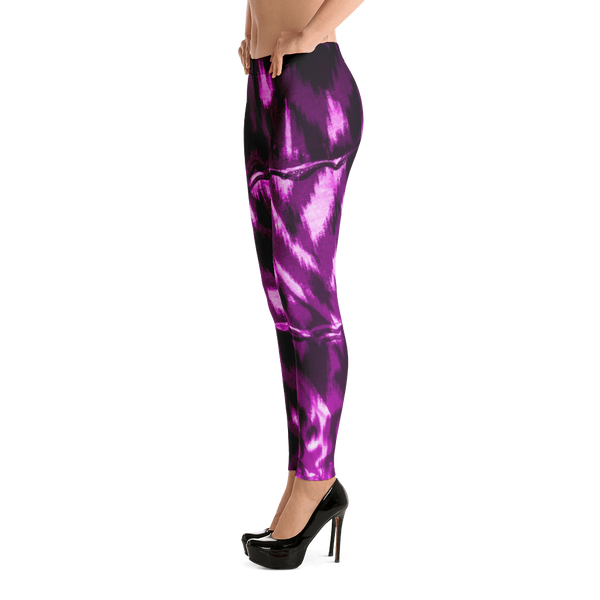 Purple Animal Leggings