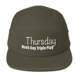 Thursday Work Day Triple Play Five Panel Cap