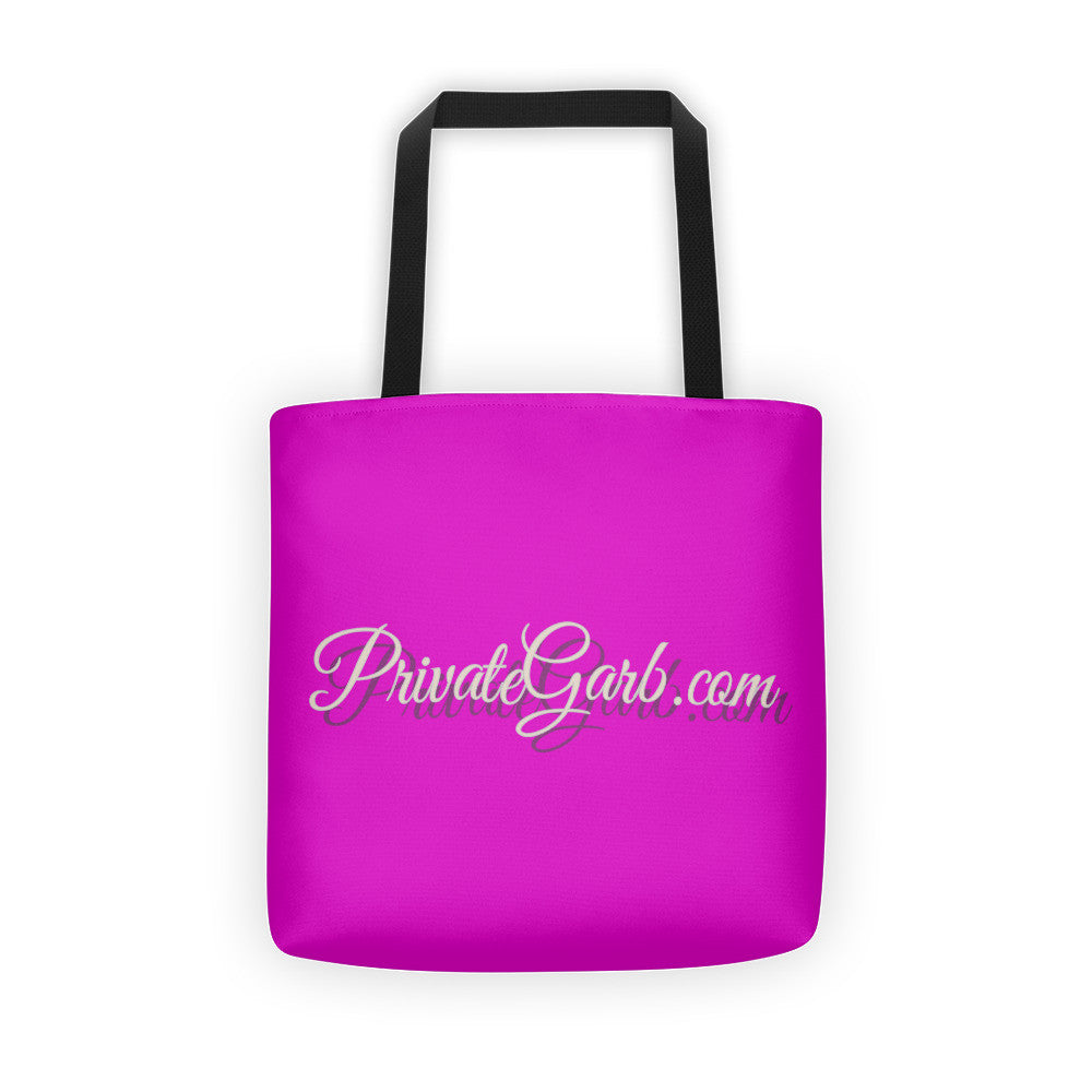 PrivateGarb.com Tote Bag-Advertise