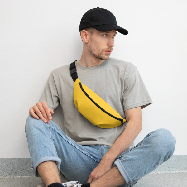 Banana Yellow Fanny Pack