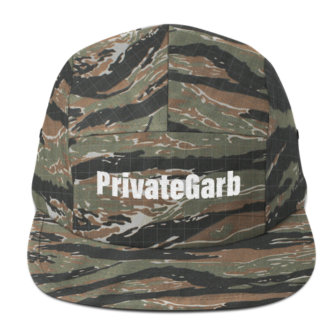 PrivateGarb Five Panel Cap