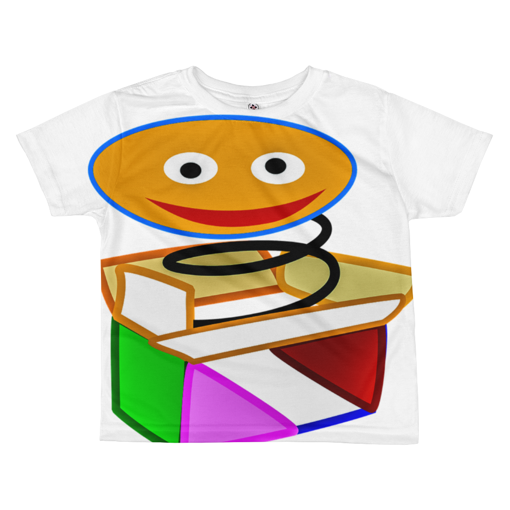 Pop Up All-Over Kids Sublimation T-shirt