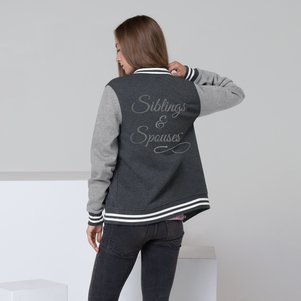 Siblings & Spouses Women's Letterman Jacket (CREATE YOUR OWN PERSONALIZED DESIGN)