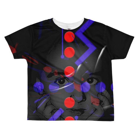 Peek-A-Boo All-over kids sublimation T-shirt