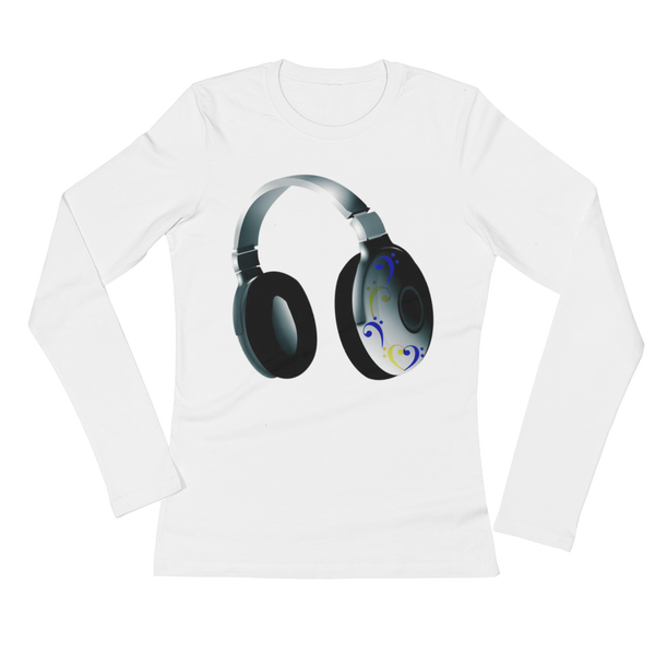 Headphone Ladies' Long Sleeve