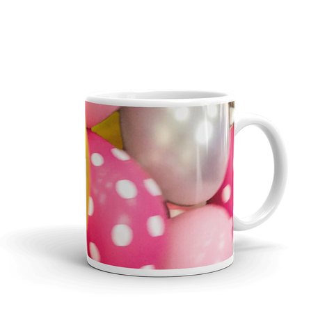 Yummy Balloons Mug made in the USA