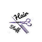 'Hair Stuff' Bubble-free stickers