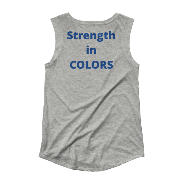 Strength in Colors Ladies' Cap Sleeve T-Shirt