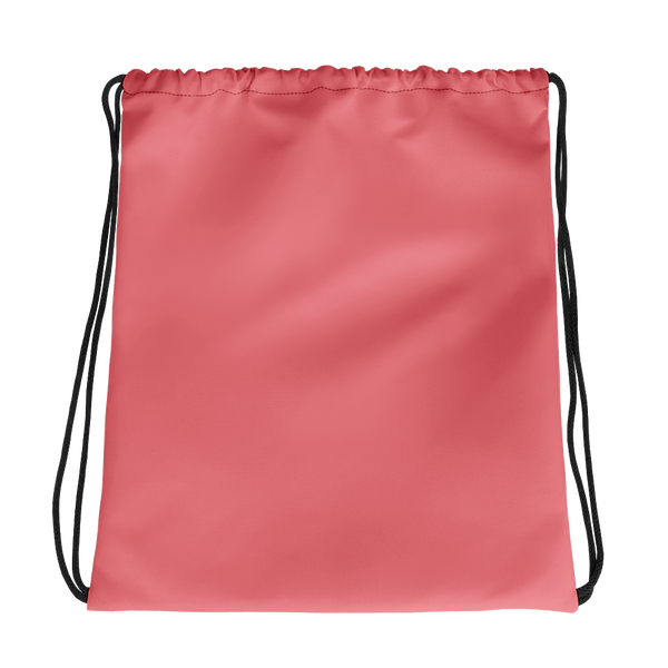 All Peach Drawstring bag