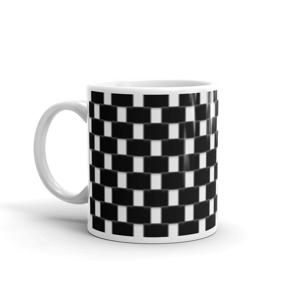 Checkered Mug made in the USA