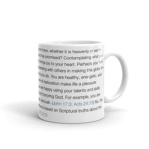 Promised Things Mug