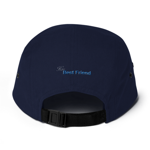 Her Best Friend 5 Panel Camper Cap