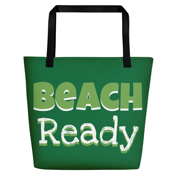 'Beach Ready' Beach Bag
