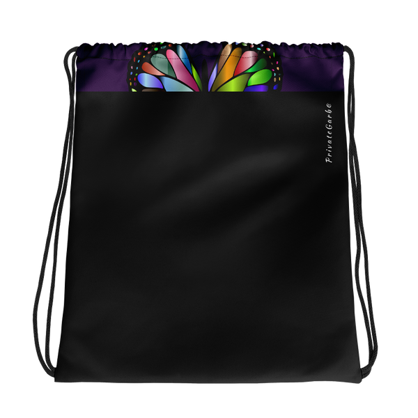 LOVE Live Drawstring bag