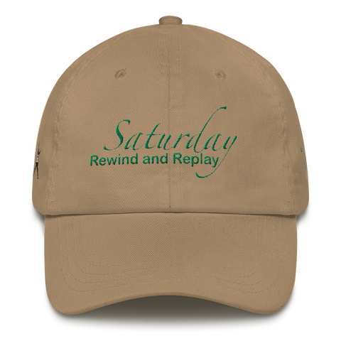 Saturday Rewind and Replay Dad Hat