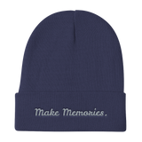 Make Memories.S Knit Beanie