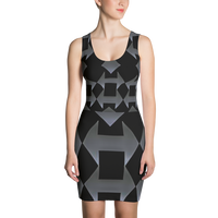 Diamond Arrow Sublimation Cut & Sew Dress