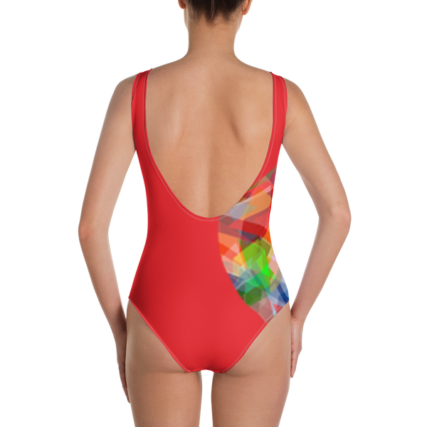 Side Heart-r One-Piece Swimsuit