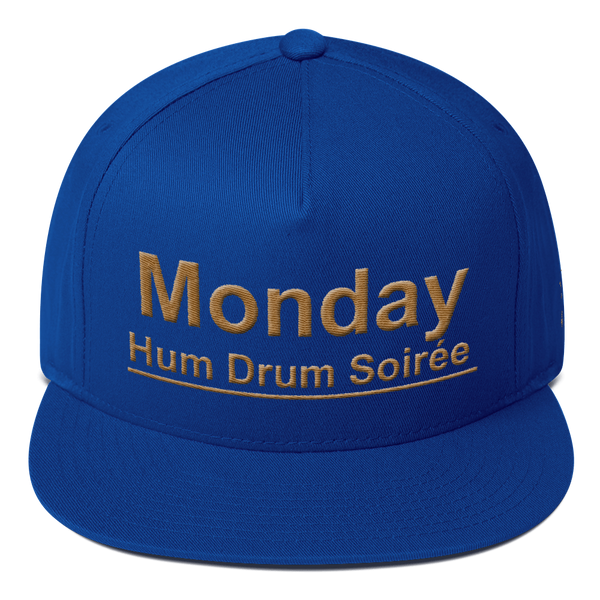Monday Hum Drum Soiree Flat Bill Cap