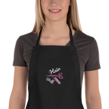 Hair Stuff Embroidered Apron