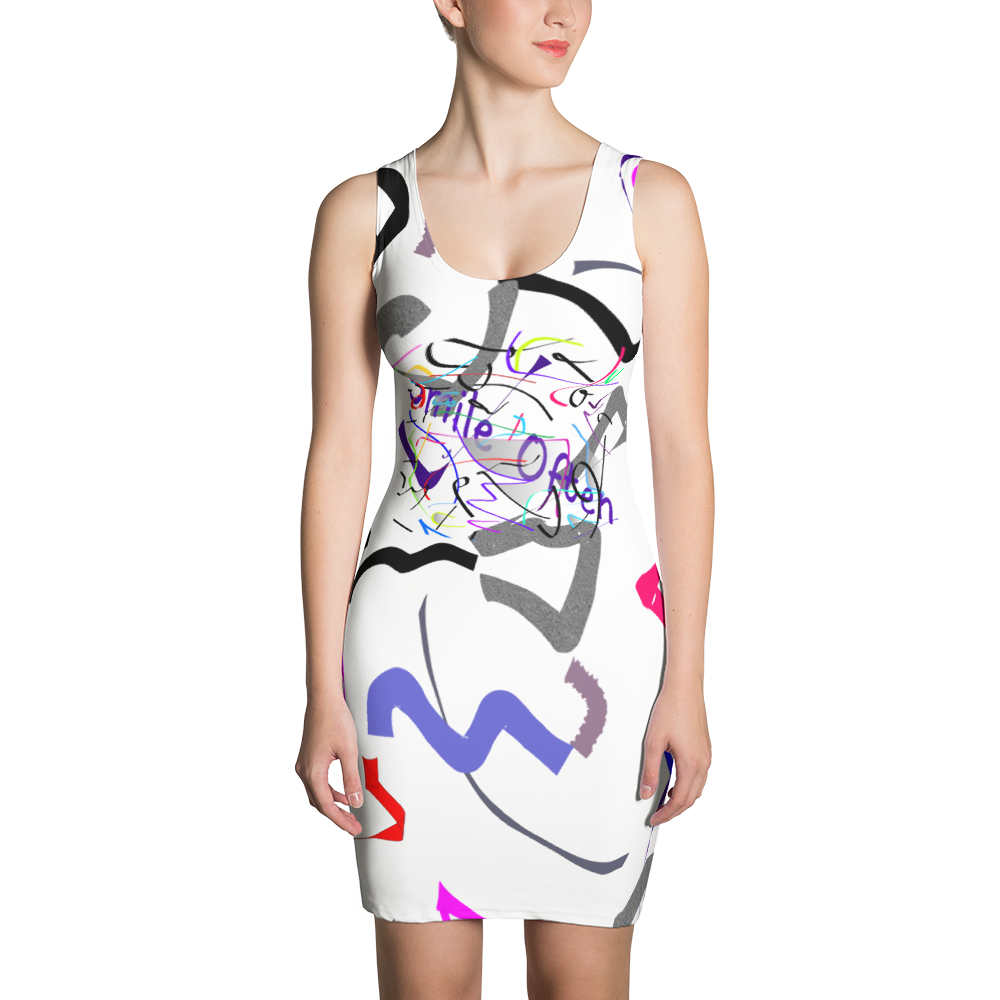 Smile Often Sublimation Cut & Sew Dress