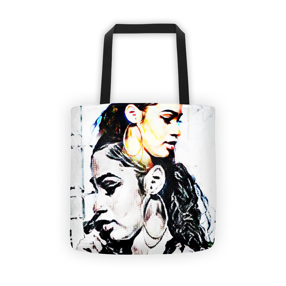 Strong Beach Beauty Tote bag