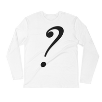 ? Long Sleeve Fitted Crew