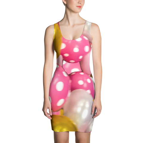 Pretty Balloons Sublimation Cut & Sew Dress