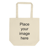 Eco Organic Tote Bag (CREATE YOUR PERSONALIZED DESIGN)