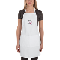 Hair Stuff-W Embroidered Apron