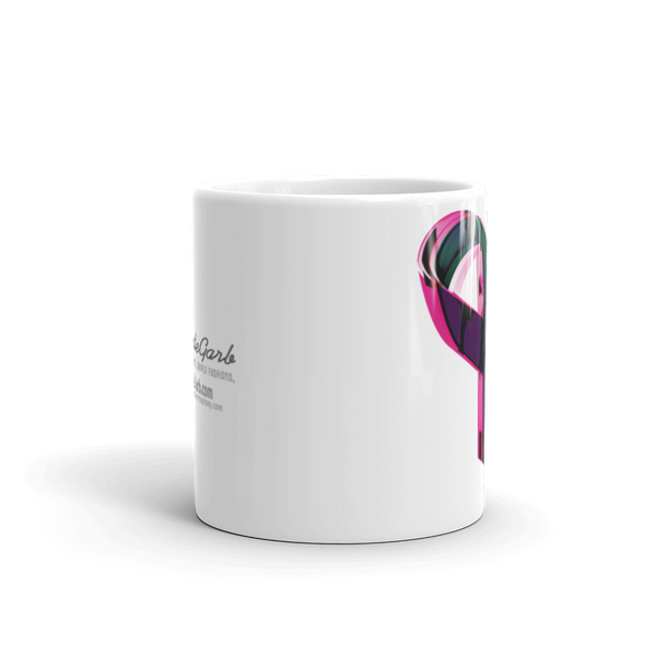 Colorful Ribbon Mug made in the USA