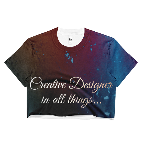 Creative Ladies Crop Top