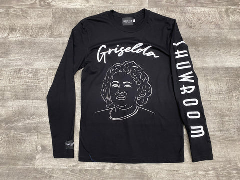 "Showroom ""Pablo"" long sleeve tee (Black)"