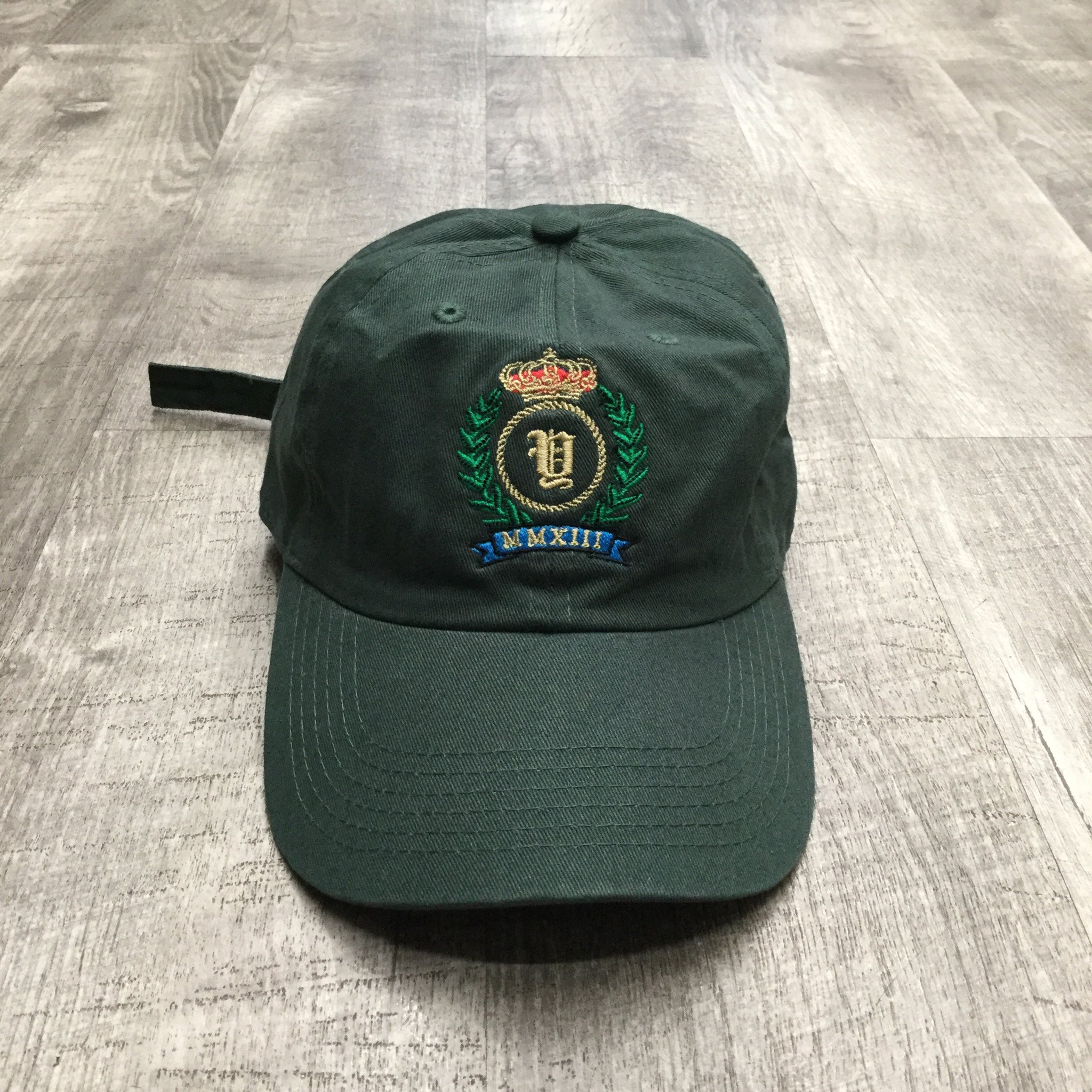 Yacht Pay Crest Dad Hat (Forest Green)