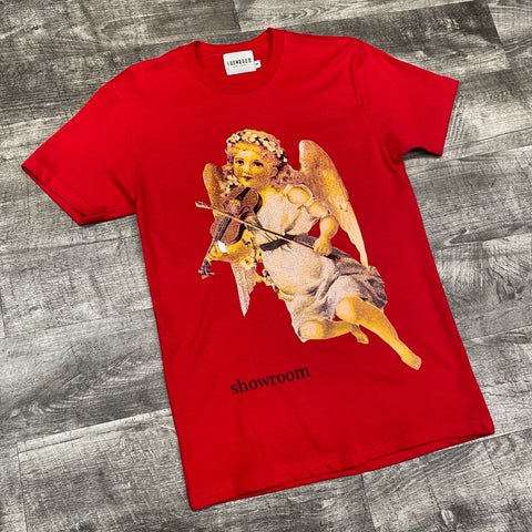 "Showroom ""Violins"" tee (red)"