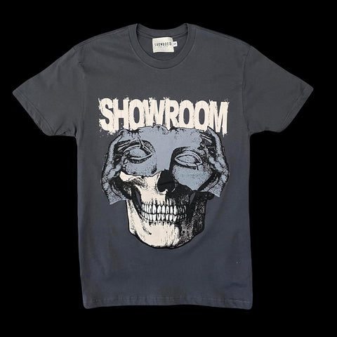 "Showroom ""change of faces"" tee (grey)"