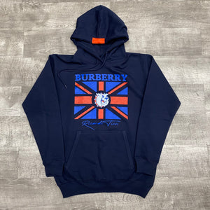 "The knew ""bulldog"" hoodie (navy)"