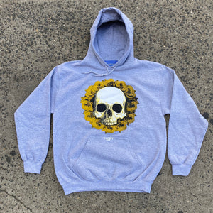 "Yachtpay ""Skull"" Hoodies (Grey)"