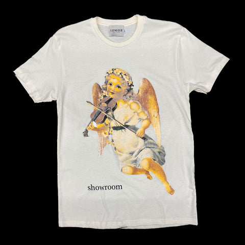 "Showroom ""Violins"" tee (cream)"